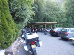 Secure parking at Pension Lindental